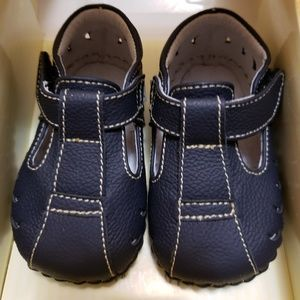 Baby shoes leather sandals